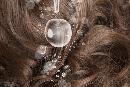 penetration: The moisture in the hair