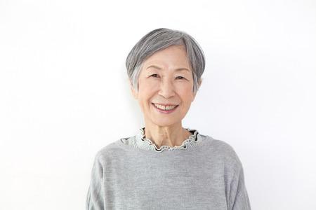 Mujer mayor del retrato Foto de archivo