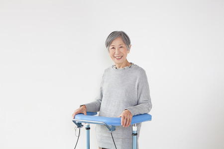 health care facility: Senior Woman portrait