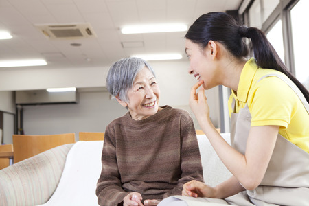 A caregiver's conversation with Grandma