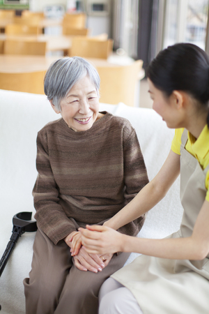 caregivers: Caregivers hand