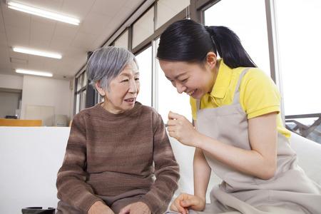 A caregivers conversation with Grandma