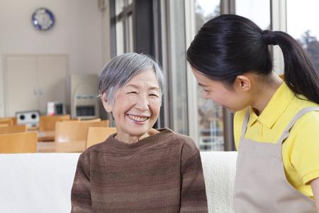 seres vivos: La conversación de un cuidador con la abuela