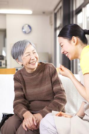 A caregiver's conversation with Grandma
