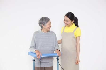 pflegeversicherung: Pflegeperson und Grandma