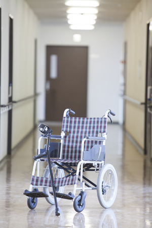 social work aged care: Wheelchair Stock Photo