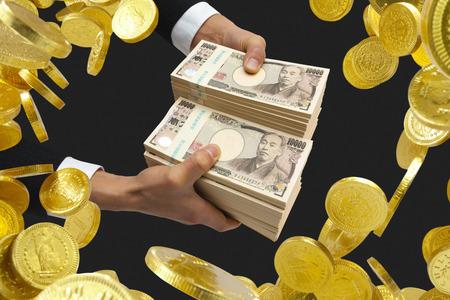 Businessmen get money