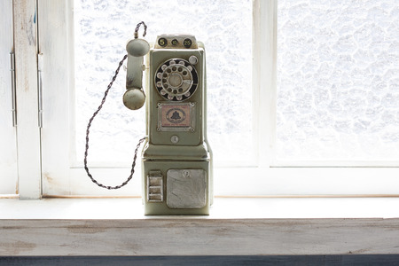 retro: Toy retro phone