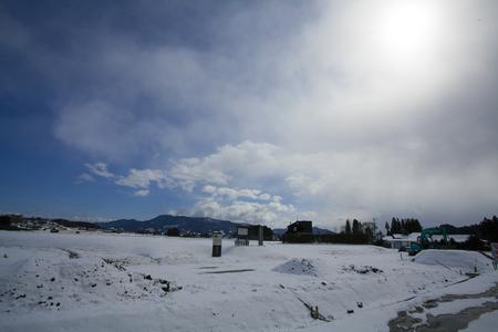 hombre millonario: La mayoría de los inviernos de fusión ruinas nieve acumulada meses millonarias Hara Temple
