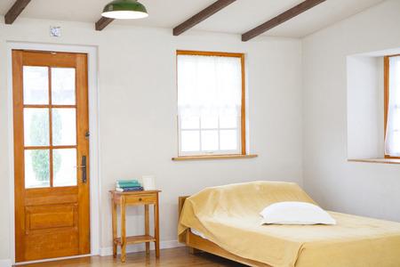a detached living room: Bedroom
