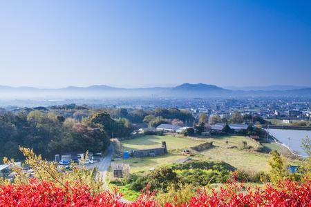 sa: Wakayama city as seen from Kinokawa SA