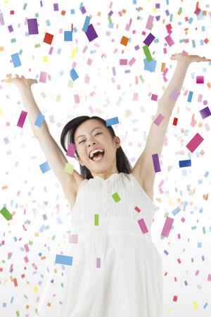 rejoice: women who rejoice Stock Photo
