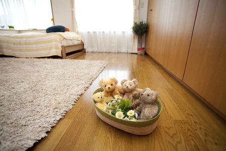 keeping room: Teddy bear