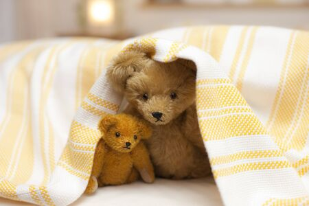 keeping room: Teddy bear duvet out of face