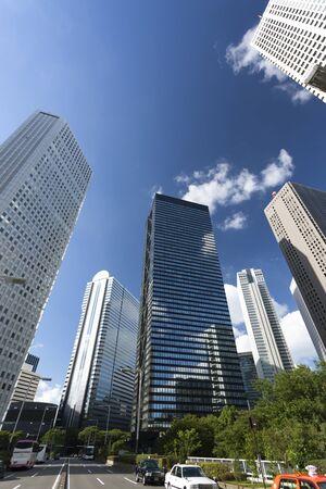 High-rise skyscrapers of Shinjuku