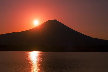 quietude: Sunrise from Lake Tanuki
