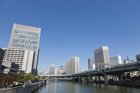 i hope: I hope the west of Oe Bridge Stock Photo