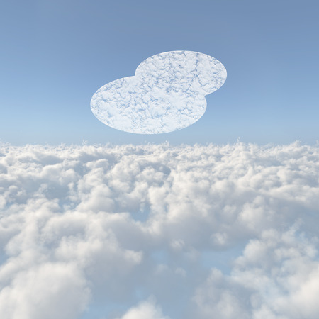 firmament: Sea of clouds and cloud