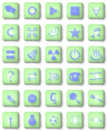 clamps: Icon Stock Photo