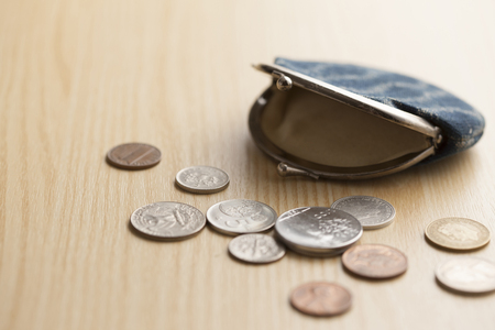 coin purses: Wallets and money