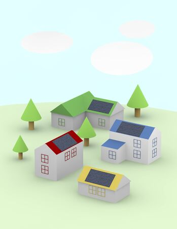 housing: Illustrations of housing