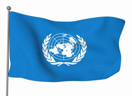 united nations: Las Naciones Unidas  Foto de archivo
