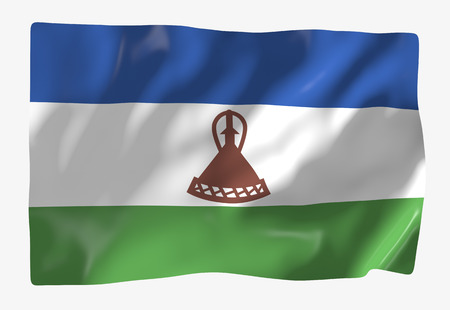 LESOTHO: Kingdom of Lesotho Stock Photo