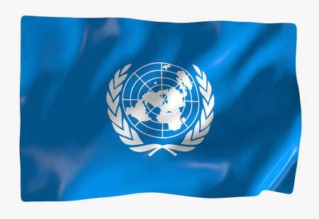 the united nations: Las Naciones Unidas  Foto de archivo