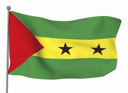 principe: Santo Tomé y Príncipe Foto de archivo