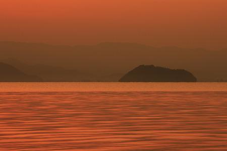 lakeside: Lake Biwa lakeside morning