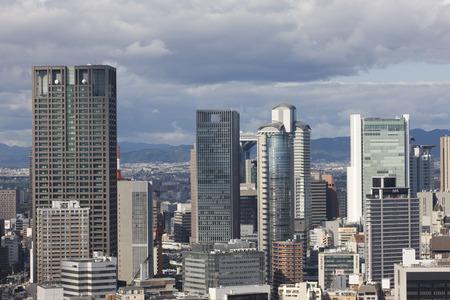kita: Osaka streets, quarters, Kita-ku than Honcho