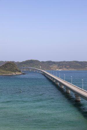 prefecture: Tsunoshima, Yamaguchi Prefecture Stock Photo