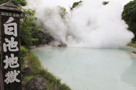 infierno: Pond White Hell Hot Springs