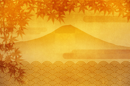 circumstance: Fuji and autumn leaves