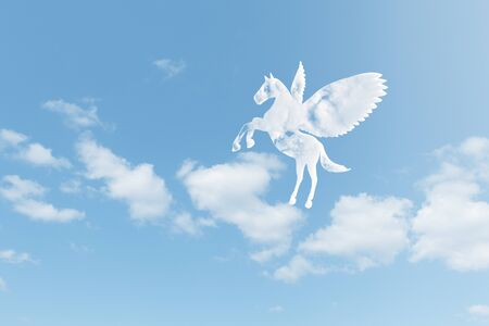 mostly: Pegasus clouds