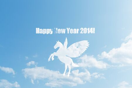 fine weather: Cloud of Pegasus cards