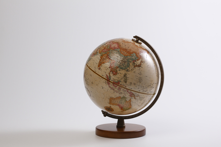 teaching material: Globe, Asia