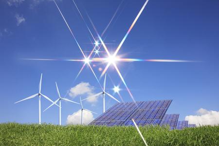 windpower: Grassland and renewable energy