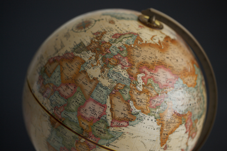 teaching material: Globe, Europe