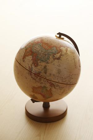 instructional: Globe, Asia