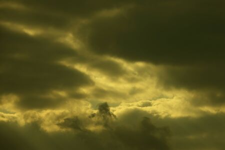 uneasiness: Overcast sky