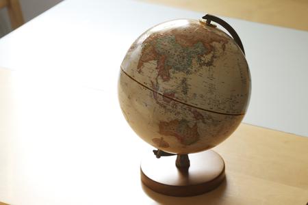 weltkugel asien: Globe, Asien Lizenzfreie Bilder