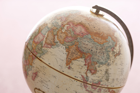 teaching material: Globe, Asia, Middle East