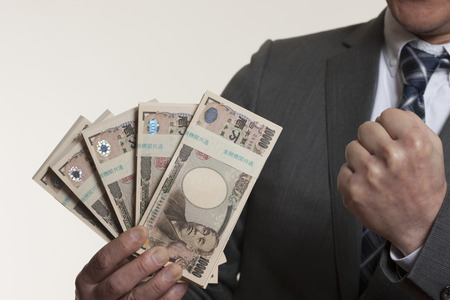 wad: Men with WAD Stock Photo