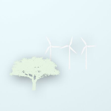 windpower: Paper of trees