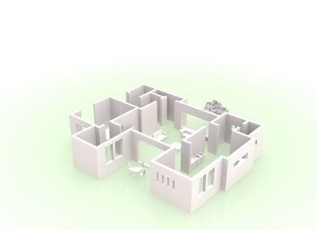 floor plan: 3D floor plan