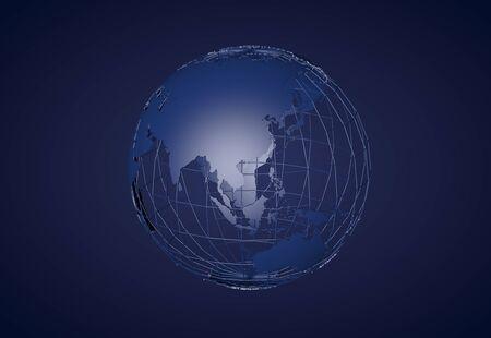 earth map: Earth
