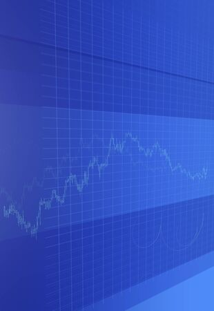stock price: Stock price chart Stock Photo