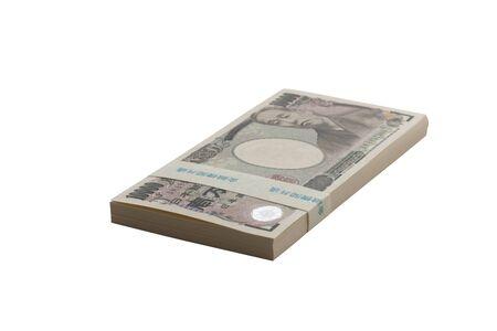yen: Wad of ten thousand yen