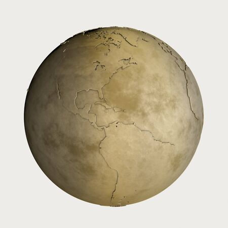 gold globe: Globe of gold Stock Photo